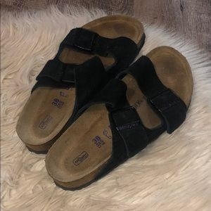 Black Birkenstock's Size 38